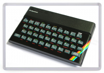ZX Spectrum 48K Fridge Magnet. Sinclair Computer